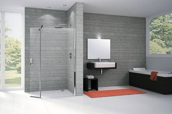 La douche à l\'italienne, la tendance salle de bain design