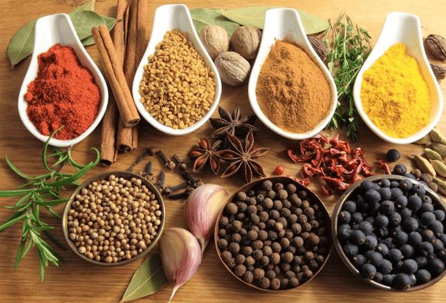 Epices, poivres et herbes : Bienfaits de ces condiments pour la santé
