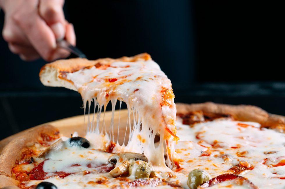 les différents types de pizzas