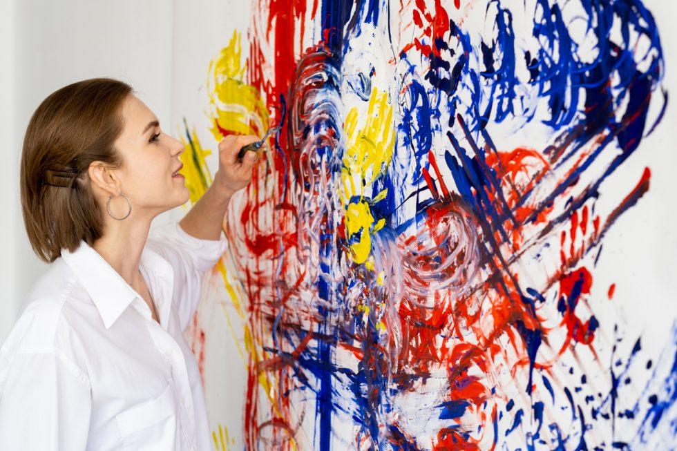 art thérapie pour décorer sa maison
